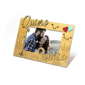 Portarretrato Amor En Mdf - Fabricarte - Regalos