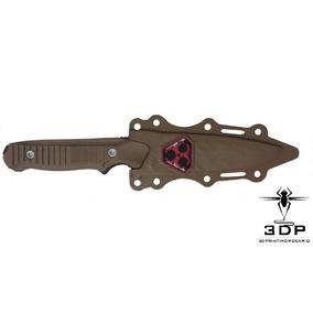Cuchillo Táctico Con Traba Airsoft Impresión 3d Flex
