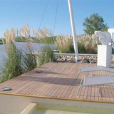 Deck De Madera Eucaliptus Grandis Country 1 X 4 1racal. M2