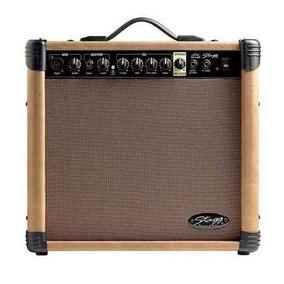 Amplificador De Guitarra Acustica 40watt Stagg 40 Aa R Eu