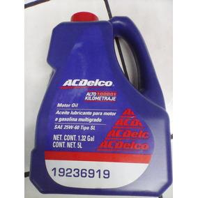 Aceite Acdelco Multigrado 25w/60 Alto Kilometraje Garrafa 5