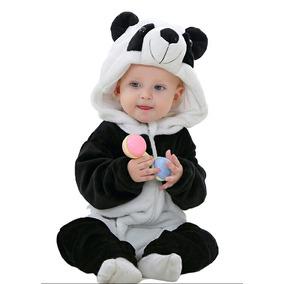 Macacão Urso Panda Infantil Bebê Bichinho Leve Defeito Novo