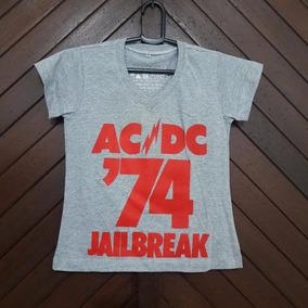 Camiseta Blusa Blusinha Baby Look Pp Música Rock Barata