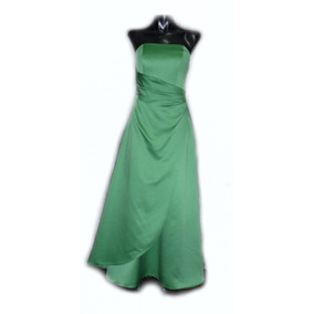 Lilasori Vestido De Fiesta Importado Color Verde Talla 2
