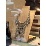 Exhibidor Para Collar Rustico Pallet Reciclado