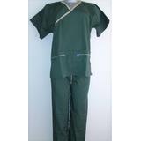 Uniforme Médico Mono Quirúrgico Completo Tela Gabardina S