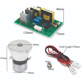 Transductor Piezoelectrico 100w + Placa Generadora 28 Khz