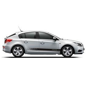 Kit Adesivo Cruze Faixa Lateral Acessórios Peças Chevrolet