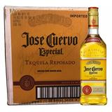 Caixa 12 Tequila Jose Cuervo Especial Gold 750ml Fret Grátis