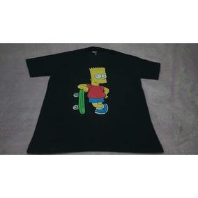Camiseta Nova Dos Simpsons Tam P Adulto