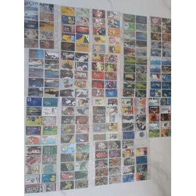 Cartões Telefônico Contém 375 Coleção Completa E Incompleta