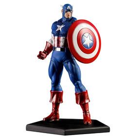Captain America 1/10 - Marvel Comics Série 4 - Iron Studios