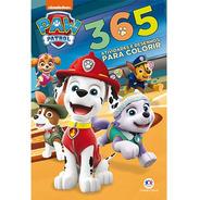 Livro 365 Atividades E Desenhos Para Colorir Patrulha Canina