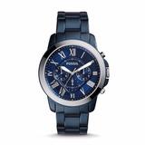 Reloj Fossil Grant Chronograph Blue Casual Fs5230 Hombre
