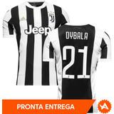 Camisa Juventus Home 2018 - Nº21 Dybala - Pronta Entrega