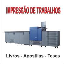 Impressão À Laser - Trabalhos, Tcc, Apostilas, Panfletos...