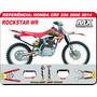 Kit De Adesivos Crf 230 - Rockstar Wr - Qualidade 3m