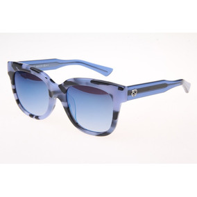 Óculos Gucci Feminino Gg3756 Blue Tortoise Original