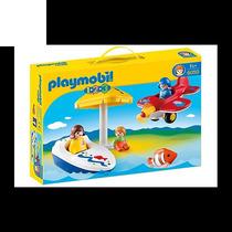 Playmobil 123 6050 Diversión En Vacaciones Mejor Precio!!