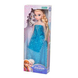 Muñeca Frozen Elsa Original Con Licencia Disney