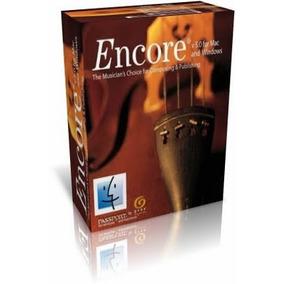 Encore 5 Em Portbr + Manual + 4500 Partituras + Exercicios