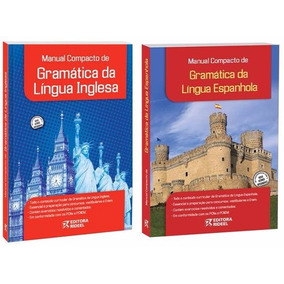 Manual Compacto Gramática Língua Inglesa Ou Espanhola