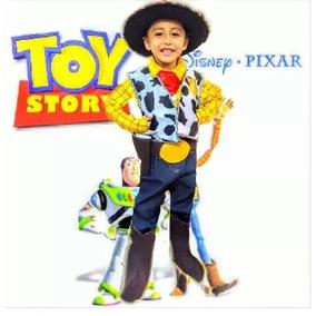 Disfraz Woody Toy Story Vaquero Niño Y Sombrero Envío Gratis