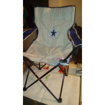 Silla Plegable Dallas Cowboys Nfl Vaqueros Acereros Boston