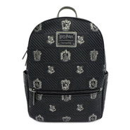 Bolsa Loungefly Backpack Harry Potter Escudos Casas Hogwarts