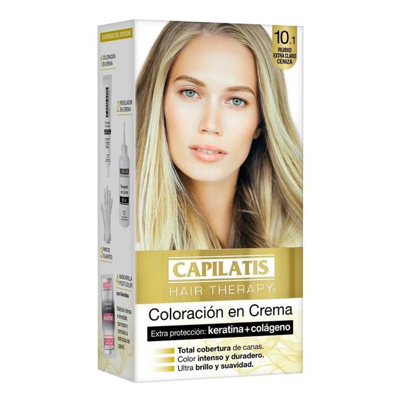 Capilatis Coloración Crema Rubio Extra Claro Ceniza 10.1