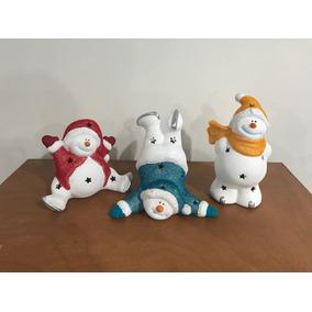Muñecos De Nieve Adorno Navideño