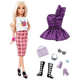 Kit Barbie Fashionistas Nº31 2016 + Roupinha + Acessórios