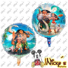 Globo De Moana De 18 Pulgadas O 45cm Princesa Disney Globos