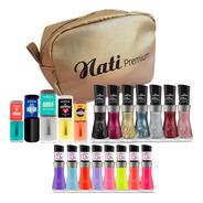 Kit Multi Coleções Nati  - Glitter + Multicolor + Me Salva