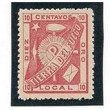 Estampilla Tierra Del Fuego Popper Año 1891 Sin Bisagra