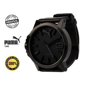 Relógio Puma Ultrasize Preto - Pronta Entrega + Brinde