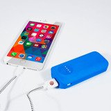 Ebai Q1 Power Bank Cargador Portátil 5600 Mah Azul Iphone 6