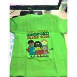 Franelas Niños En Colores Hilo 20mifnco515