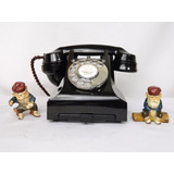 Teléfono Antiguo Ingles Mca. G P O Mod. 312 Excelente ¡