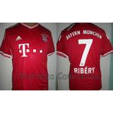 Camiseta Del Bayern Munich De Alemania adidas Ribery