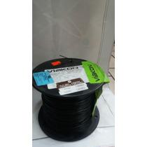 Rollo Cable Calibre 22 (500m) Negro Escolar