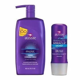 Kit Aussie Shampoo 865ml + 3 Minute Miracle Pronta Entrega