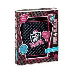Diario Eletrônico Monster High Mattel Bbr25