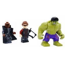 Hulk Gavião Arqueiro E Nick Fury Na Caixa Frete Gratis