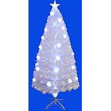 Árbol De Navidad Pre-encendido Del Árbol De Fibra Óptica Sp