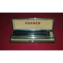 Gaita Honher 64 Chromonica - Importada Muito Conservada