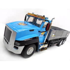 Caminhão Carreta Carrinho De Controle Remoto Scania