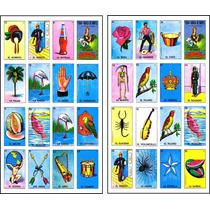 Loteria Mexicana Imprimible 100 Cartas