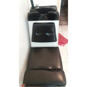 Balcão Com Espelho E Cadeira - Cadeira Lavatória .