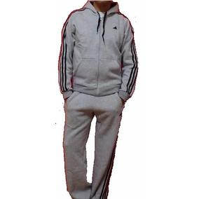 Conjunto adidas Campera Mas Pantalon 100 % Algodon Con Friza